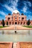 Túmulo de Humayun Deli, India fotografia de stock