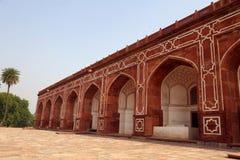 Túmulo de Humayun em Deli, Índia imagem de stock