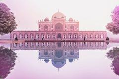 Túmulo de Humayun em Nova Deli Imagens de Stock