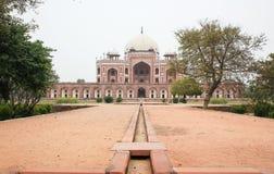 Túmulo de Humayun s, Nova Deli, Índia Imagens de Stock