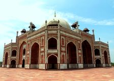 Túmulo de Humayuns Foto de Stock Royalty Free