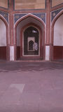 Túmulo de Humayuns em Deli, Índia Imagens de Stock Royalty Free