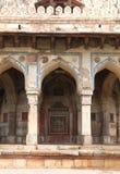 Túmulo de Isa Khan, complexo do túmulo de Humayuns, Deli imagem de stock