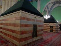 Túmulo de Issac e de Rebecca, Hebron, Palestina imagens de stock