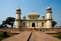 Túmulo de Itimad-ud-Daula igualmente conhecido como o bebê Taj Fotos de Stock