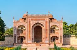 Túmulo de Itimad-ud-Daulah em Agra, Índia fotografia de stock