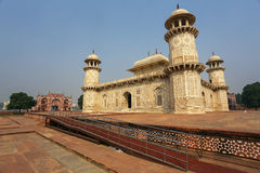 Túmulo de Itimad-ud-Daulah em Agra, Uttar Pradesh, Índia Imagens de Stock Royalty Free