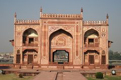 Túmulo de Itmad-ud-Daulah Imagens de Stock