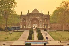 Túmulo de Jahangir, Lahore Imagens de Stock