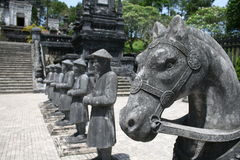 Túmulo de Khai Dinh Fotografia de Stock