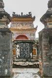 Túmulo de Khiem da Turquia Duc em Hue Vietnam foto de stock royalty free