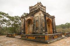 Túmulo de Khiem da Turquia Duc em Hue Vietnam foto de stock