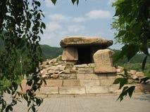 Túmulo de Koguryo antigo Kingdo Fotos de Stock Royalty Free