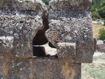 Túmulo de Lycian fotografia de stock royalty free