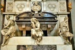 Túmulo de Michelangelo em Florença, Italy fotografia de stock royalty free