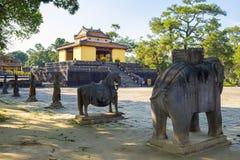 Túmulo de Minh Mang Hue imagem de stock