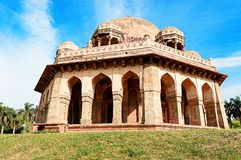Túmulo de Mohammed Shah, jardins de Lodhi, Nova Deli Imagens de Stock Royalty Free