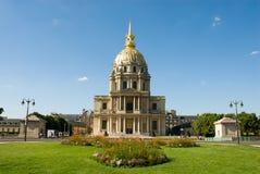 Túmulo de Napoleon em Les Invalides foto de stock