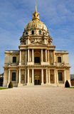 Túmulo de Napoleon, Paris Fotografia de Stock Royalty Free