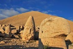 Túmulo de Nemrut Dagi Foto de Stock Royalty Free