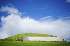 Túmulo de Newgrange fotografia de stock