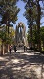Túmulo de Omar Khayyam imagem de stock