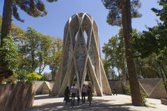 Túmulo de Omar Khayyam foto de stock