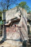 Túmulo de Oscar Wilde Fotografia de Stock Royalty Free