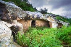 Túmulo de Prehistorich Foto de Stock Royalty Free