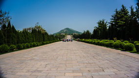 Túmulo de Qian Foto de Stock Royalty Free