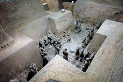 Túmulo de Qin Si Huang Foto de Stock