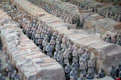 Túmulo de Qin Si Huang Imagens de Stock
