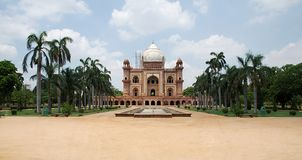 Túmulo de Safdarjung, Nova Deli imagens de stock