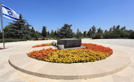 Túmulo de Theodor Herzl no Monte Herzl fotos de stock royalty free