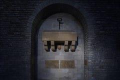 Túmulo de Wilfred o peludo fotografia de stock