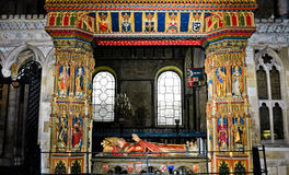 Túmulo do arcebispo Henry Chichele Foto de Stock