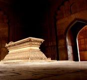 Túmulo do destaque da luz da noite de Safdurjung Foto de Stock Royalty Free