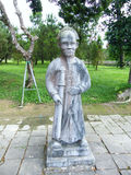 Túmulo do imperador Minh Mang, matiz Vietnam Imagem de Stock Royalty Free