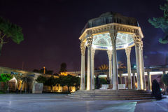 Túmulo do poeta Hafez em Shiraz Imagem de Stock
