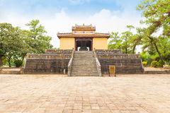 Túmulo do rei Minh Mang, a cidade imperial da matiz Imagem de Stock