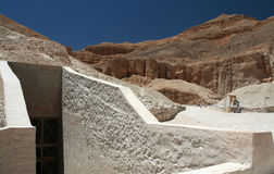 Túmulo do rei Ramses III. Imagem de Stock