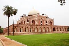 Túmulo do ` s de Humayun, Deli, Índia imagens de stock royalty free