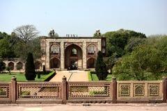 Túmulo do ` s de Humayun na Índia fotos de stock royalty free