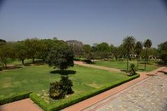 Túmulo do ` s de Humayun na Índia imagens de stock
