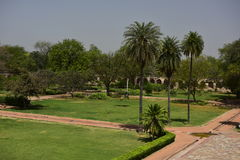 Túmulo do ` s de Humayun na Índia fotografia de stock royalty free
