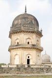 Túmulo do xá de Jamsheed Quli Qutub Imagens de Stock