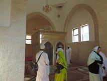 Túmulo do Zeid-escaninho-Hartha em Jordânia Fotos de Stock