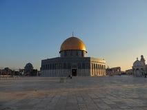 Túmulo dourado da mesquita do al-Aqsa, Jerusalém Fotos de Stock Royalty Free