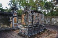 Túmulo imperial antigo vietnamiano Imagem de Stock Royalty Free