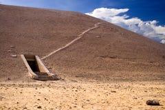 Túmulo no vale dos reis Fotografia de Stock Royalty Free